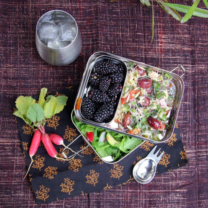 EcoLunchbox Lunchbox 3-in-1 Giant eten