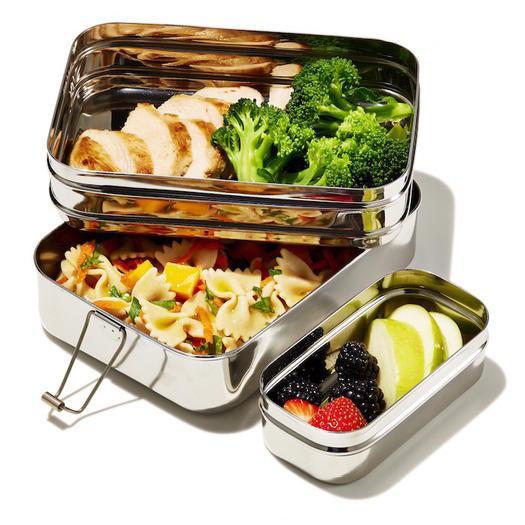 EcoLunchbox Lunchbox 3-in-1 Giant fruit