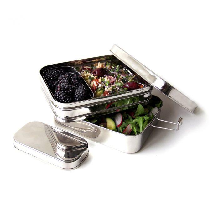 EcoLunchbox Lunchbox 3-in-1 Giant werk