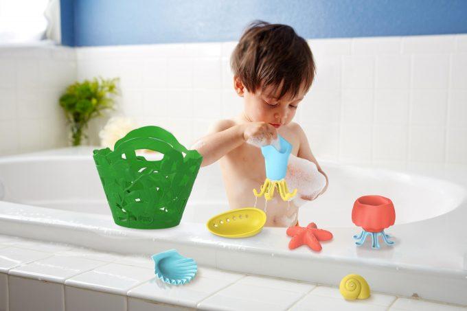 Green Toys Badset spelen