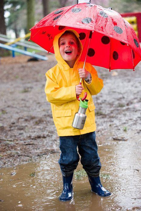 Klante kanteen Kid Classic 355 ml regen