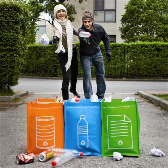 Xindao Recycle Gescheiden afvaltassen buiten