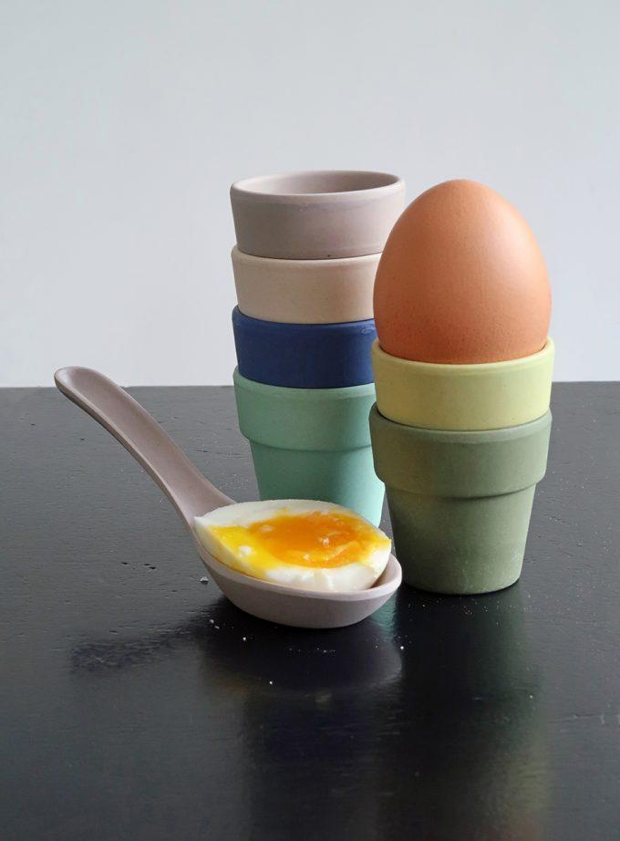 Zuperzozial Little Egg Heads - Eierdopjes - Breeze sfeer