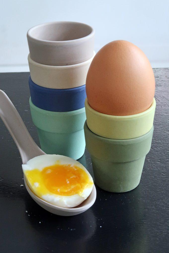 Zuperzozial Little Egg Heads - Eierdopjes - Breeze tafel