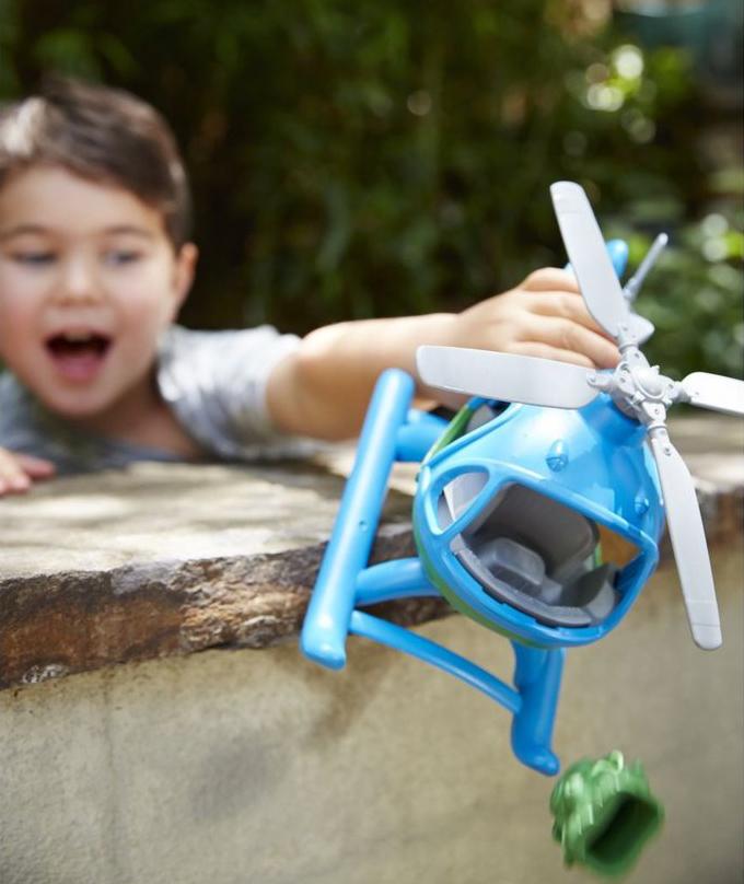 Green Toys Helicopter spelen