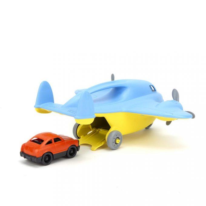 Green Toys Vrachtvliegtuig zij