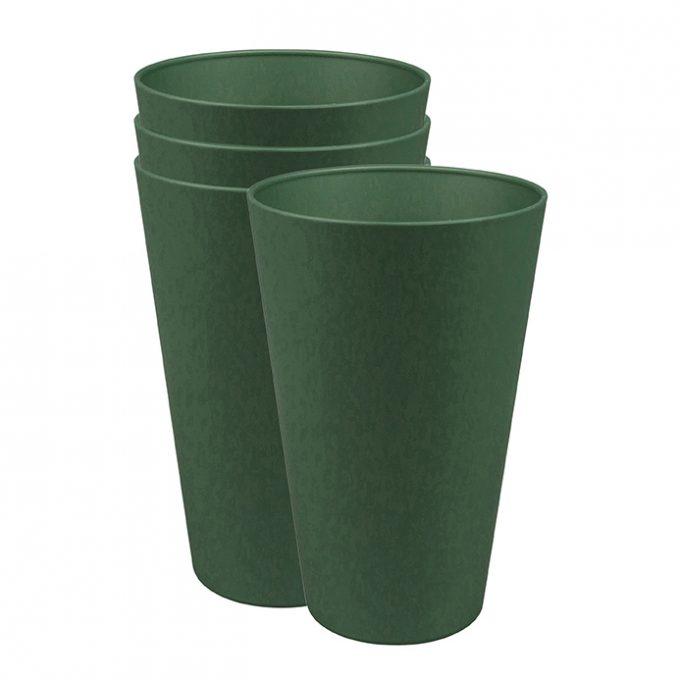 Zuperzozial Reload-Cup beker set van 4 groen