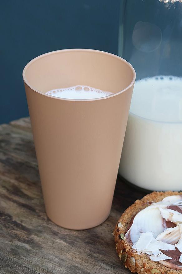 Zuperzozial Reload-Cup bekers bruin drankje