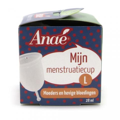 Anae Menstruatiecup Large verpakking